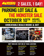 4 Wheel Parts Monster Sales Invade Stores Across the Nation