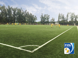 xtreme turf, artificial turf, synthetic turf, act global, fifa, fifa quality, fifa two star, fifa certification, ho chi minh university