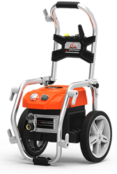 The YF2200BL has broken the pressure barrier as the first electric pressure washer to produce 2200 PSI operating on a standard 15 Amp household outlet.