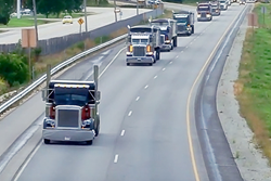 Special Olympics-Wisconsin Truck Convoy 2015