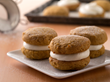 Soft Pumpkin Sandwich Cookies