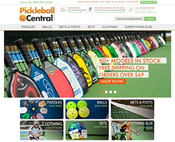 The PickleballCentral.com Home Page