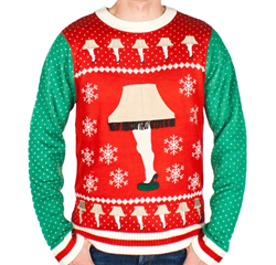 New 'A Christmas Story' Sweaters - Leg Lamps and More!