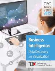The TEC 2015 Business Intelligence Buyer's Guide focuses on data discovery and visualization solutions.