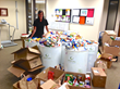 SlimGenics Annual Food Drive Collects Over 7,300 Pounds of Food Donations to Assist in Feeding the Hungry in Local Communities