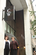 Owners Leah Richmond and Su-Zette Sparks outside Coterie Worklounge.