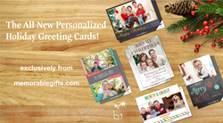 The All New Personalized Holiday Greeting Cards!