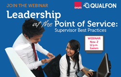 Qualfon Ovum Webinar: Leadership at the Point of Service