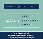 Frost & Sullivan 2015 Market Leader Award