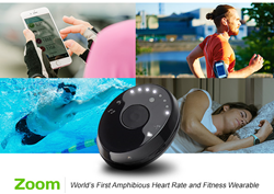 The LifeTrak Zoom is the world's first amphibious fitness tracker, seeking to meet the needs of multi-sport athletes.