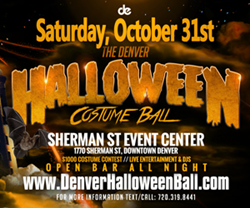 Denver Halloween Costume Ball 2015