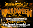 Announcing The Exclusive Open Bar Halloween Party in Denver Colorado - The Annual Denver Halloween Costume Ball at Sherman Street Event Center