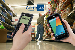 CipherLab Intelligent Ordering Entry Solution on Android Touch Computer
