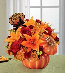 FTD® Boo-Quet® Halloween Flower Arrangement from BloomsToday.com