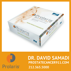Revolutionary genetic test for diagnosing and understanding the staging of Prostate Cancer, Prolaris & Genomic Prostate Score from Myriad Genetics, is now offered at Dr. Samadi's Prostate Cancer Center in New York City.
