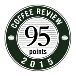 Ethiopian Jimma Agaro from Crimson Cup wins 95 rating from the Coffee Review