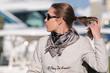Carmel, black scarf,silk scarf, luxury