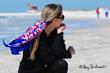 patriotic Sarasota city scarf