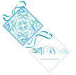 Sarasota Blue Chiffon CLUE
