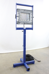 Class 1 Division 1 150 Watt LED Light on Adjustable Base Stand