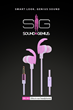 Sound Is Genius (SIG) New Brand Of 360 Sound Headphones