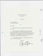Letter from obama to Arian Eghbali