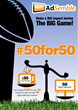 AdSemble Launches #50for50 Campaign for the Big Game