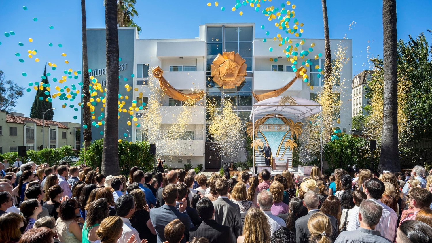 Scientology Golden Crest Religious Retreat Inaugurated In