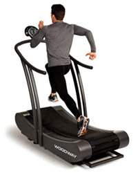 Manual treadmills don't need a motor. They use your own power.