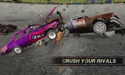 demolition derby screen shot