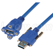 L-com Develops Panel Mount USB3 Vision Cables