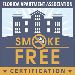 FAA Smoke-Free Certification logo