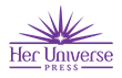 The new Her Universe Press logo