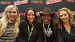 Ashley Eckstein and the Her Universe Press panelists at NYCC (from left to right) - Anne Convery, Dave Filoni and Heather Nuhfer.