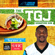 "Harris Teeter Unveils Carolina Panthers' Ted Ginn's ""TGJ"" Signature Sub Sandwich"