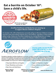Aeroflow Healthcare and Barberitos Fundraising Event