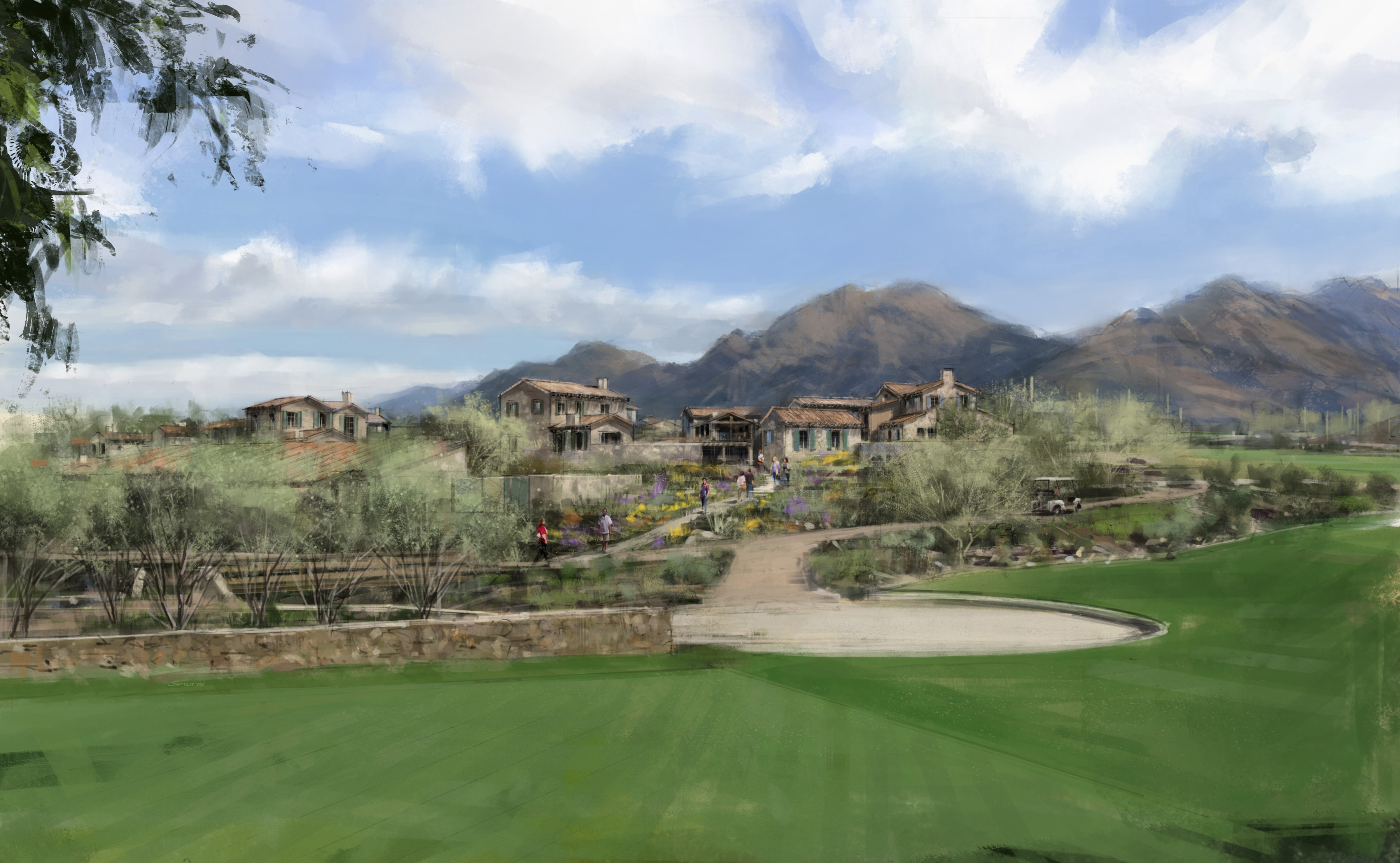 Cullum homes set to debut the village at silverleaf one for Silverleaf com