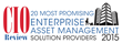 CIOReview Most Promising Enterprise Asset Management Provider - 2015