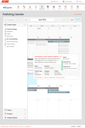 Skyword Marketing Calendar