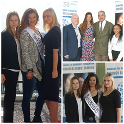 Miss Namibia visits London School of Marketing