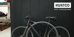 The Sol bike rack by Huntco