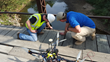 Tethered Drone Prototype Offers Improved Safety for Bridge Inspections