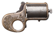 "Very Rare James Reid .41 Caliber 5-Shot ""Knuckleduster"" Revolver"