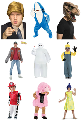 HalloweenCostumes.com 2015 Trends and Popular Costumes