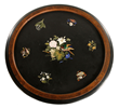 19th C. Pietra Dura Table Top View