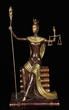 "Erte, Lady ""Justice,"" Bronze"