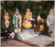 """A Christmas Carol"" Ornament Collection by Vaillancourt Folk Art"