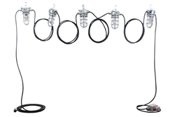 Chemical Resistant LED String Light Set that produces 5,250 Lumens of Light