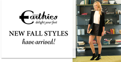 Earthies Shoes - New for Fall at Footwear etc.