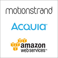 Motionstrand partners with Acquia and AWS